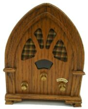 Radio Wooden Music Box Vintage Artistry in Wood WILLITTS Plays AS TIME GOES BY