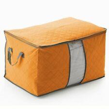 Large Foldable Storage Bag Clothes Blanket Quilt Closet Organizer Box Pouches