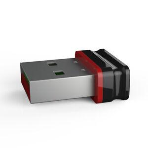 P8 Mini Nano USB Stick Schwarz Rot