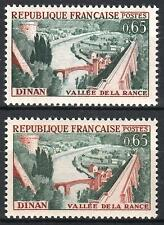 "FRANCE STAMP TIMBRE 1315 "" DINAN 65c VARIETE COULEUR "" NEUF xx SUP  M372"