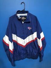 Vintage Enza Nylon USA Track and Field Jacket Size Large
