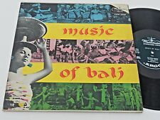 MUSIC OF BALI NM W/ Booklet Gamelan Orchestra 2 LPS XWN-2209 Indonesia gatefold