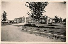 Turlock High School Turlock California CA Postcard