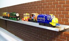 DISPLAY SHELVES for CHUGGINGTON DIECAST or THOMAS WOODEN RAILWAY / train shelf