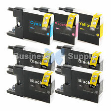 7 PACK LC71 LC75 Ink Cartridge for Brother MFC-J280W MFC-J425W MFC-J435W LC75