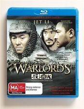 THE WARLORDS COLLECTORS EDITION BLU-RAY  1 disc Free Shipping