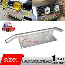 Bull Bar Front Bumper License Plate Mount Bracket Holder Offroad Light Bar 23''