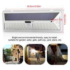 Waterproof 90 LED Solar Power PIR Motion Sensor Wall Light Outdoor Garden Lamp
