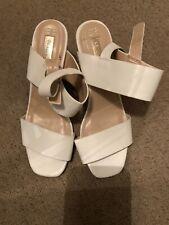 Primark White High Heels Size 6
