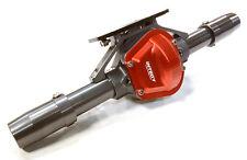 C26417GUN Integy Billet Rear Axle Housing Kit for SCX-10, Dingo, Honcho & Jeep