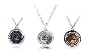 Once Upon A Time Emma Swan Round Talisman Pendant Necklace & Gift Bag