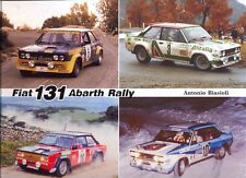 FIAT 131 ABARTH RALLY CAR-LIBRO NUOVO DI ZECCA