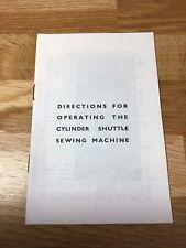 Singer Manual Suits 27K 28K 127K 128K Sewing Machine Instruction Book Cylinder