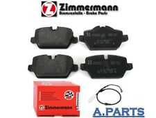 Zimmermann Pastilla de Freno Completo Sem Trasero BMW 1ER E8 E87 3ER E90 E91