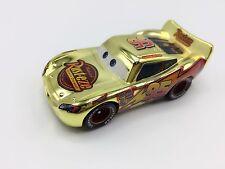 MT Cars 1 Golden Lightning McQueen Metal Toy Car 1:55 Loose Kids Boys Vehicle