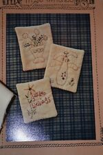 STITCHERY PATTERN & KIT - 3 SPRING PINS - INCLUDES ALL MATERIALS!!! BUNNY FLOWER