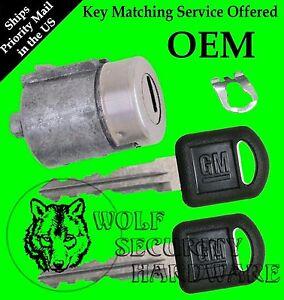 Chevy GMC OEM Single Door Key Lock Cylinder 2 Keys Key Matching Service Offered