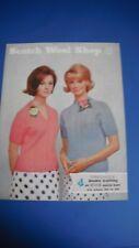 SCOTCH LANA shop Greenock WOMEN'S SWEATER Knitting Pattern 110