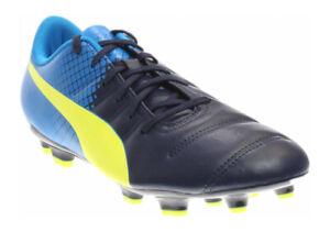 PUMA EvoPower 4.3 FG Men's Football Boots Soccer Cleats 10358507 Blue UK Size 10