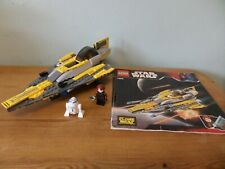 LEGO Star Wars Anakin's Jedi Starfighter (7669) 100% complete with figures