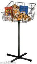 Floor Impulse Basket Display Stand (Black)