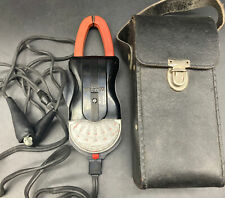Vintage Weston Clamp On Amp Volt Meter Model Type Va 1 With Leather Case 48b