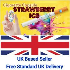 New listing100 Strawberry Ice Crushballs Bead Capsules for Cigarettes-Menth+Other Flavours