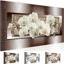 Wandbilder XXL Wohnzimmer Deko -Blumen Orchidee Schlafzimmer Flur -Bild Modern