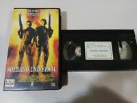 Soldat Universal Van Damme Dolph Lundgren Emmerich - VHS Tape Spanisch