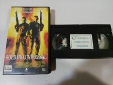 SOLDATO UNIVERSALE VAN DAMME DOLPH LUNDGREN EMMERICH - VHS TAPE SPAGNOLO