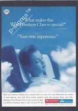KLM - NORTHWEST Airlines 1995 Print Ad # 145 0