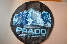 JDM OEM Toyota Land Cruiser Prado FJ120 120 Spare Tire Cover Soft SNOW Mt JAPAN