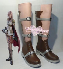 Final Fantasy XIII Eclair Farron Lightning cosplay shoes  Custom-Made 470 hot