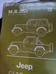 Repair Manuals Literature For 1984 Jeep Cj7 For Sale Ebay