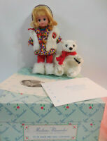 Madame Alexander Doll Off to The North Pole Coca Cola Bear