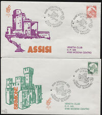 1991 - FDC VENETIA - n.721/IT - Castelli in Bobina -  viaggiate