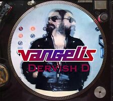 "Vangelis - Dervish D Mega Rare 12"" Picture Disc Maxi Single (Spiral) LP NM"