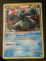 1x Feraligatr 20/123 HGSS Base Set Holo Rare Pokemon Card