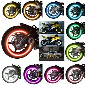 customTAYLOR33 Rim Tapes High Intensity Grade REFLECTIVE For All Vehicle Rims