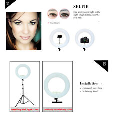 Yidoblo FS480II 5500k Dimmable LED Selfie Ring Photography Lighting For Makeup