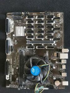 ASUS B250 MINING EXPERT 19GPU LGA 1151 Motherboard + 7x PCIe 1x to 16x risers