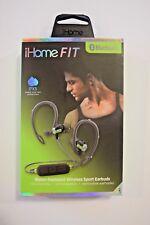 iHome Fit iB71 Water-Resistant Wireless Sport Earbuds
