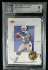Quincy Carter Dallas Cowboys 2001 Fleer Authority #146 Beckett BGS 9 MINT RC