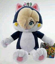 SUPER MARIO 3D WORLD ROSALINDA GATTO PELUCHE -23Cm- Cat Rosalina Plush Cat Wii U