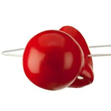 Honking Red Plastic Clown Nose Costume Accessory