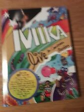 DVD MIKA LIVE IN CARTOON MOTION DELUXE DVD L OLYMPIA PARIS new and sealed