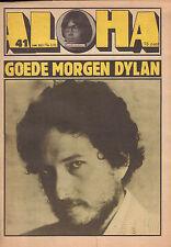 MAGAZINE ALOHA 1970 nr. 41 - BOB DYLAN (COVER) / LED ZEPPELIN