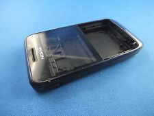 Original Nokia E63 Front Back Mittelgehäuse A B Cover Oberschale Schwarz Blau