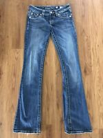 Women's MISS ME Stretch Boot Cut Jeans Size 26