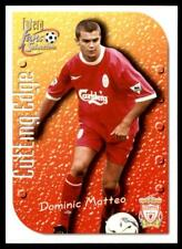 Futera Liverpool Fans' Selection 1999 - Dominic Matteo (Cutting Edge) No.6